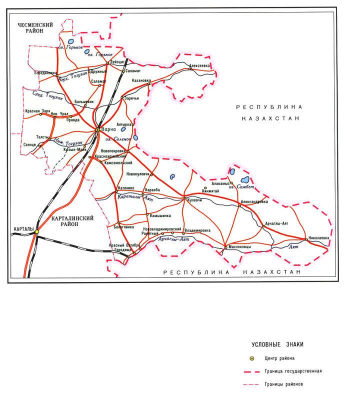 Карта Варненского